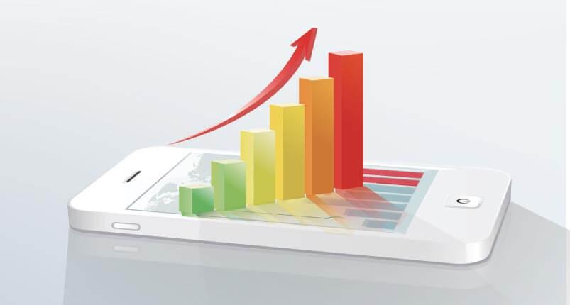 App ökar inkomsten
