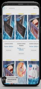 App för webbutik