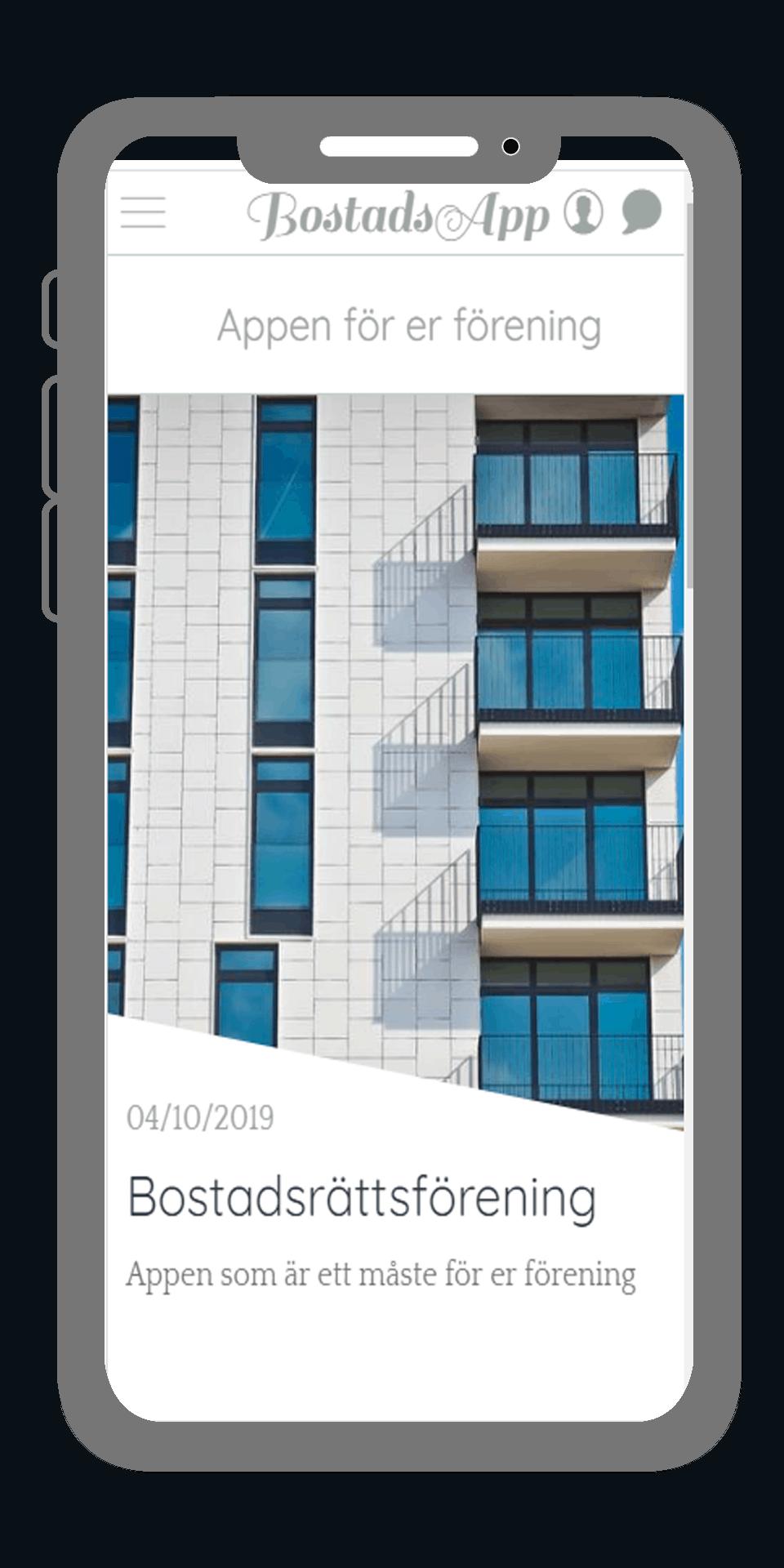 App for BRF  Egen bostadförening app 2 1