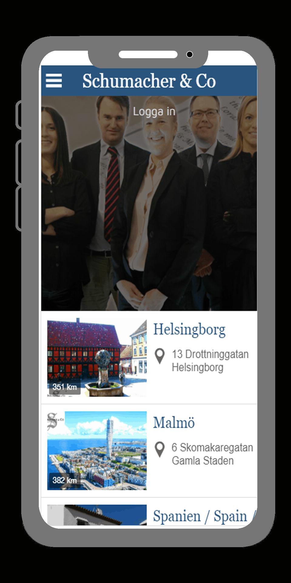 Företagsapp från AppSave