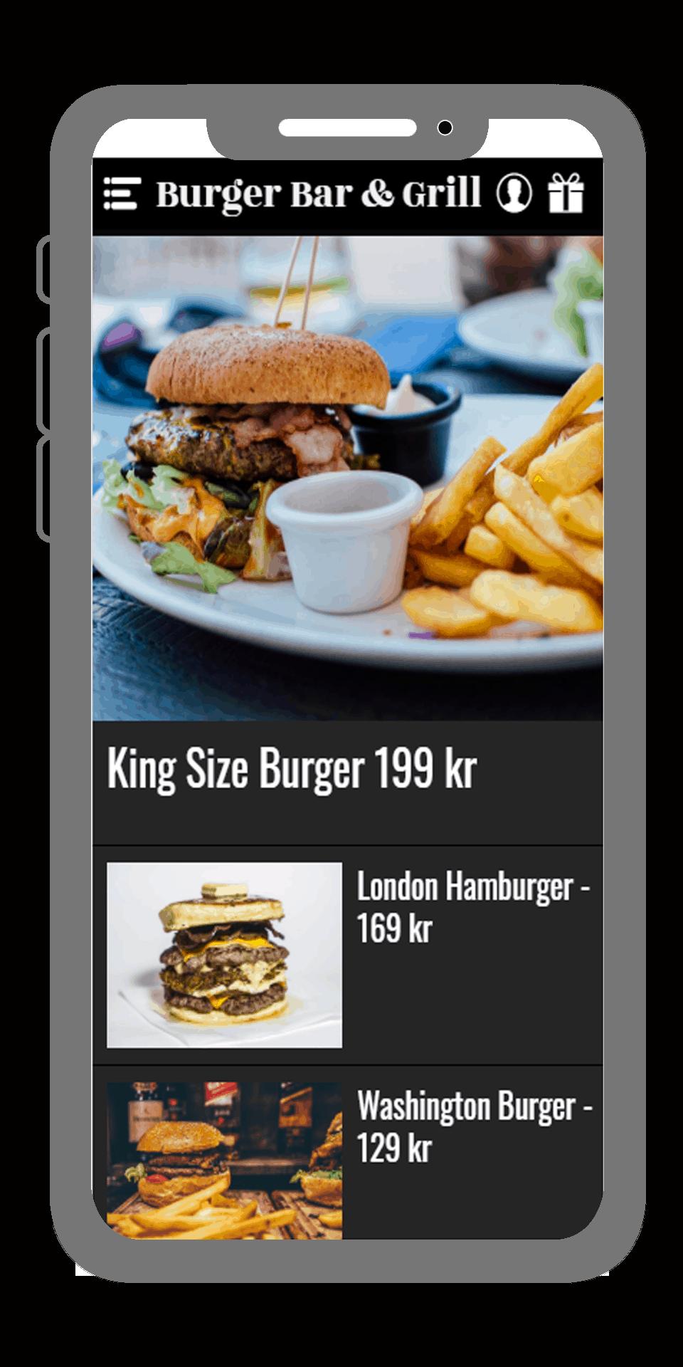 Restaurangapp från AppSave