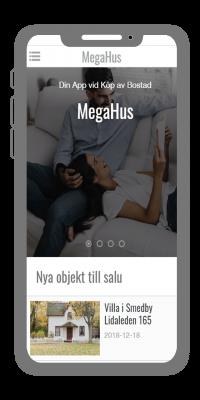 Mäklareapp från AppSave